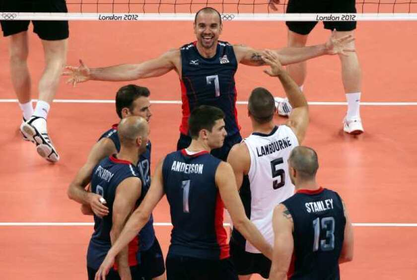 London Olympics: U.S. defeats Germany in men's volleyball