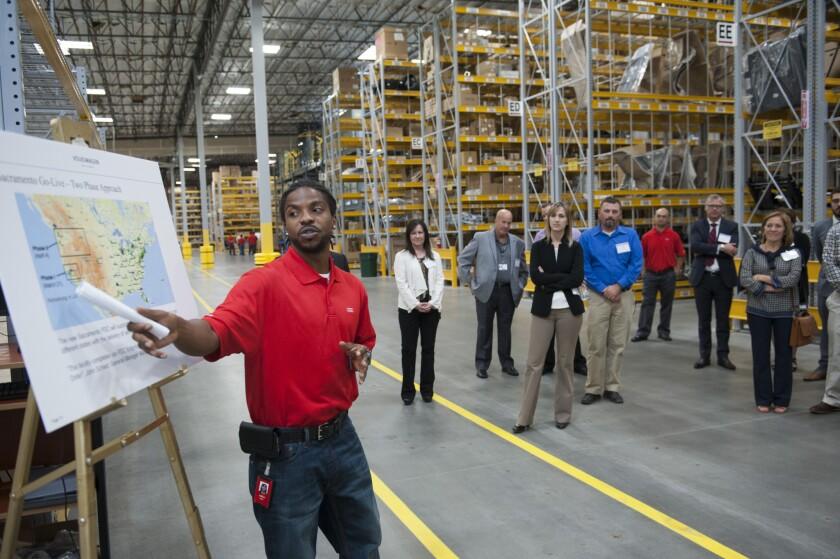 Volkswagen distribution center in Rocklin