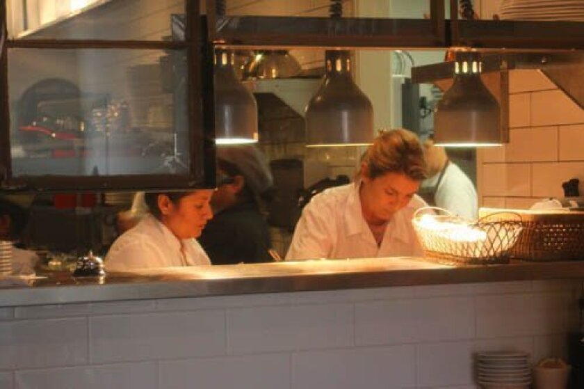 At BarleyanFigs restaurant, chef Sofi Coss runs the kitchen while husband Constantine (not pictured) runs the front of the house.