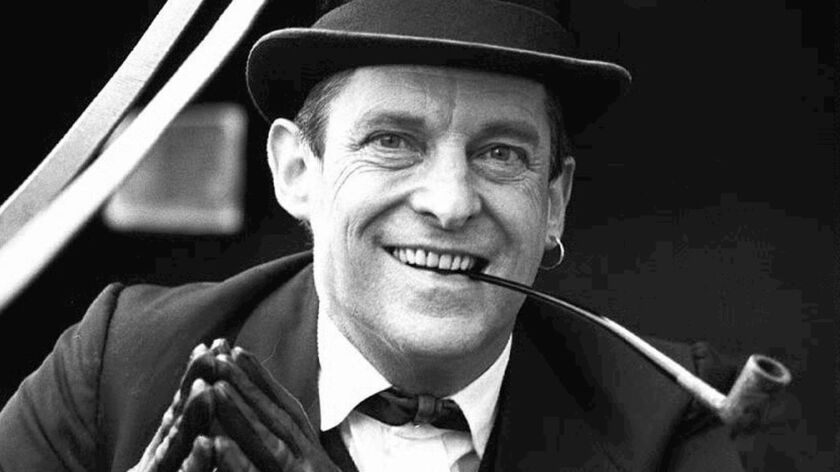 Actor Jeremy Brett, seen here in a promotional photo dressed in character as Sherlock Holmes.