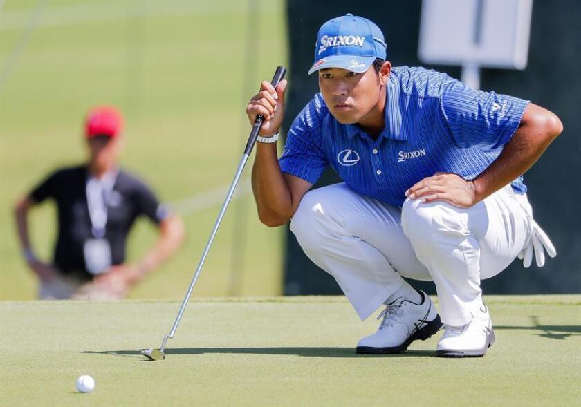 El golfista japonés, Hideki Matsuyama. EFE/Archivo