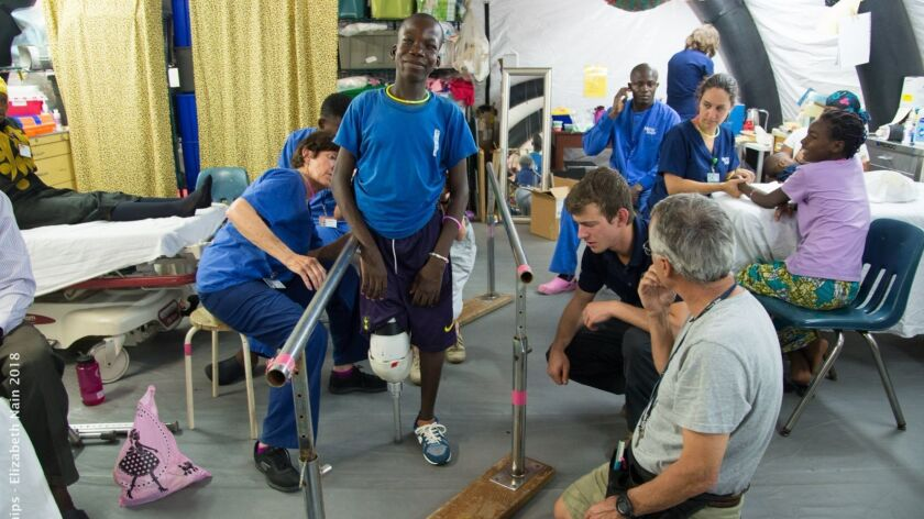 Keith Topliffe on the Africa Mercy hospital ship