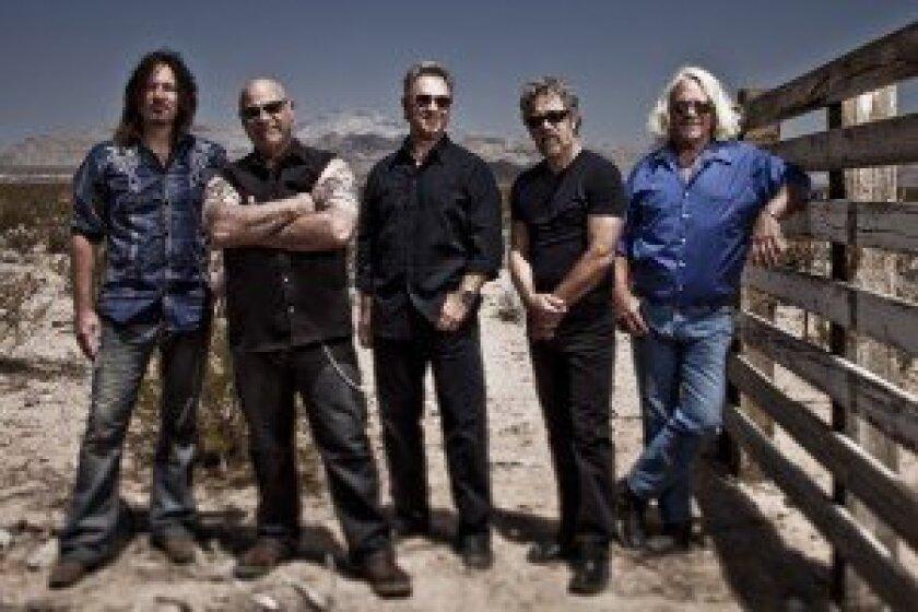 L-R – Kurt Griffey, John Tristao, Stu Cook, Doug Clifford, Steve Gunner. Photo by Jeff Dow