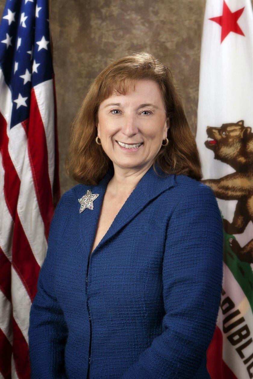 Senate Majority Leader Ellen Corbett