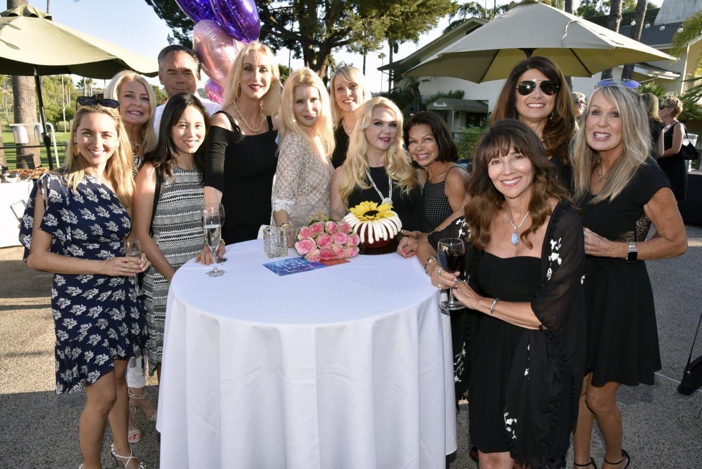 The RSF Rotary celebrated with Tatiana Novick on her birthday