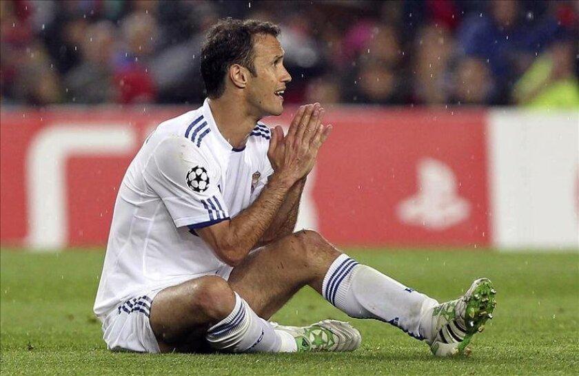 El defensa portugués del Real Madrid, Ricardo Carvalho. EFE/Archivo