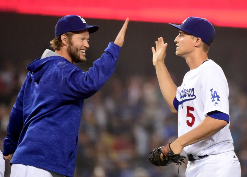 Kershaw and Seager