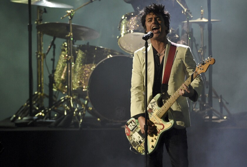 Billie Joe Armstrong of Green Day at the 2019 American Music Awards