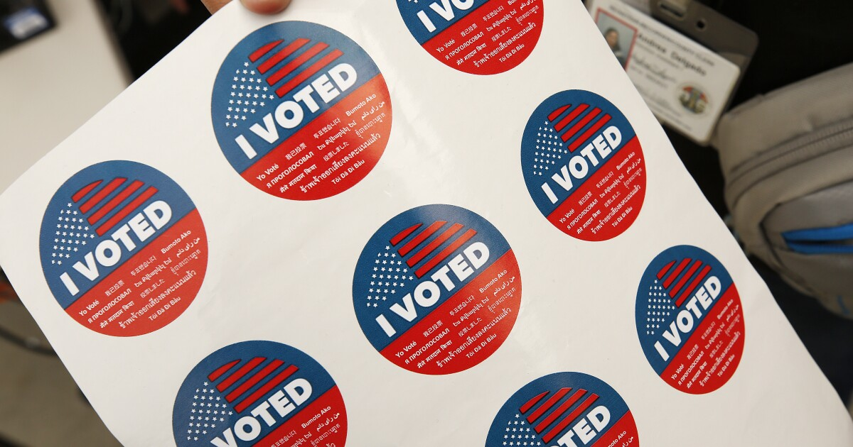 Today is the deadline to register online to vote in California
