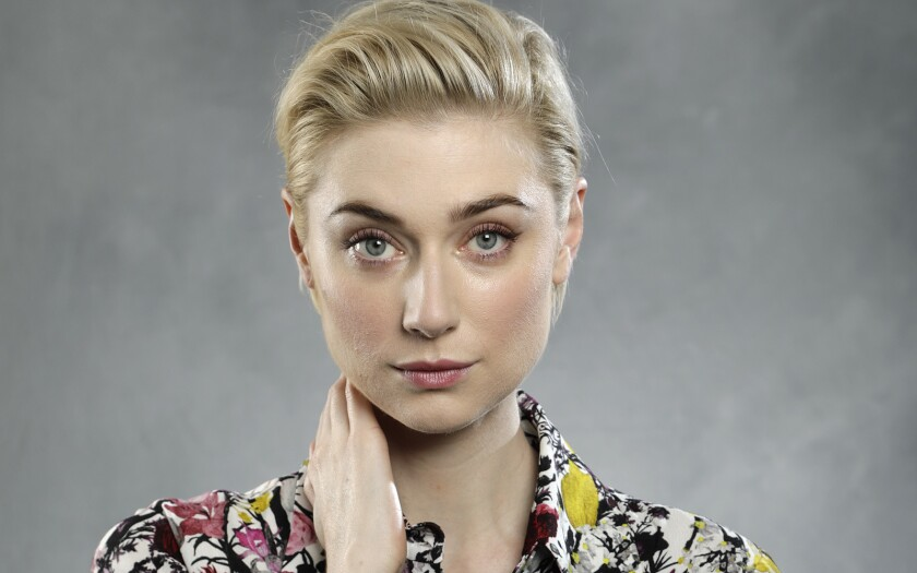 CENTURY CITY, CA -- OCTOBER 30, 2018: Elizabeth Debicki plays one of the widows in the new heist mov