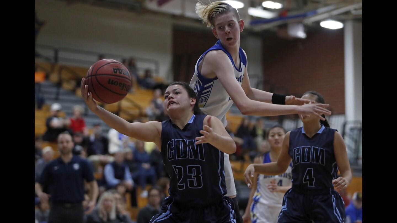 Photo Gallery: Corona del Mar vs. Fountain Valley in girls' basketball