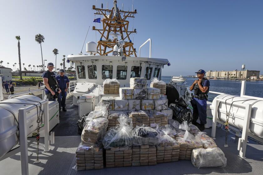 2,800 pounds of cocaine seized