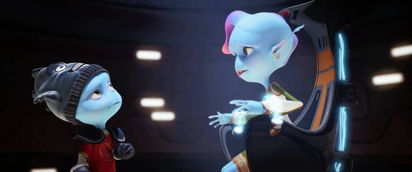 Review: 'Escape From Planet Earth' an amiable adventure