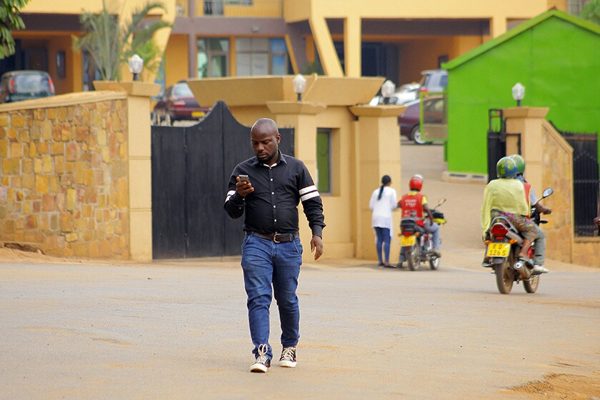 """Albert Nabonibo, a well-known gospel singer in Rwanda, said he came out as gay because he could no longer """"live in denial."""""""