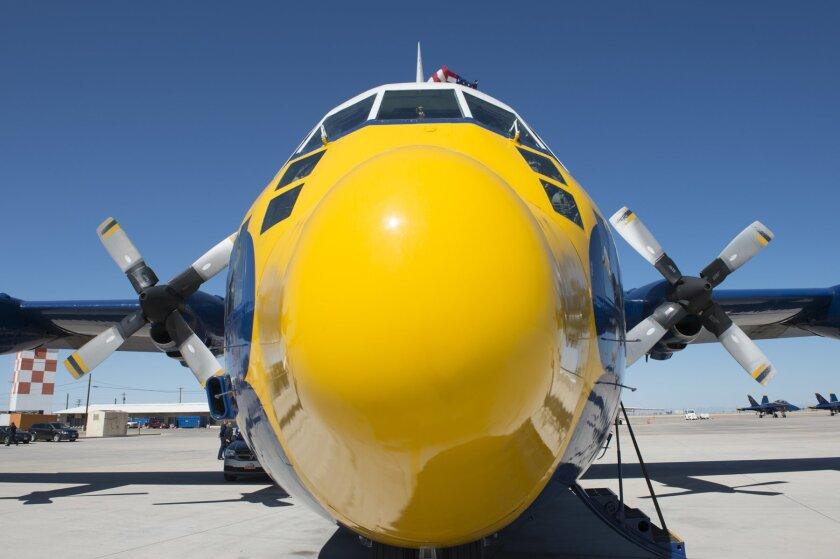 Fat Albert, the Blue Angels' C-130