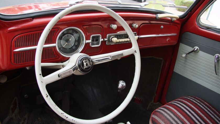 The Beetle cost around $1,800 with such accessories as the retractable steel sunroof.