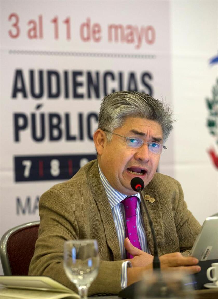 El comisionado de la Comisión Interamericana de Derechos Humanos (CIDH) Joel Hernández. EFE/Archivo