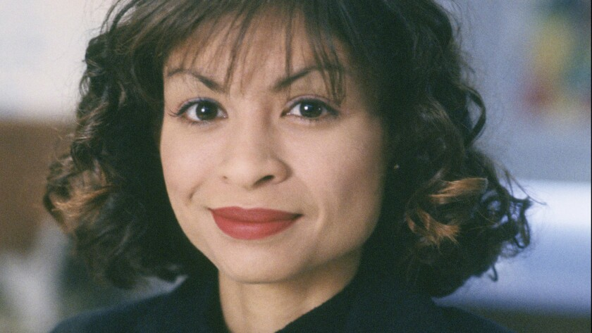 "Vanessa Marquez as Nurse Wendy Goldman on a 1995 episode of ""ER."""