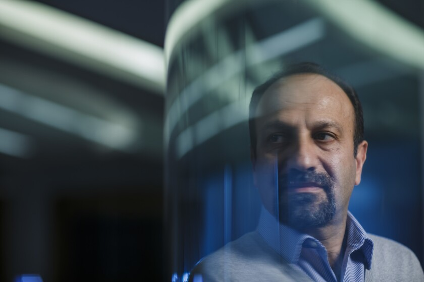 """It's in crisis that we reveal our true selves,"" says Iranian filmmaker Asghar Farhadi, whose film ""The Salesman"" is getting Oscars attention."