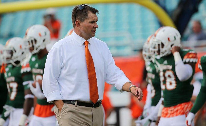 Miami fires coach Al Golden after program's worst loss