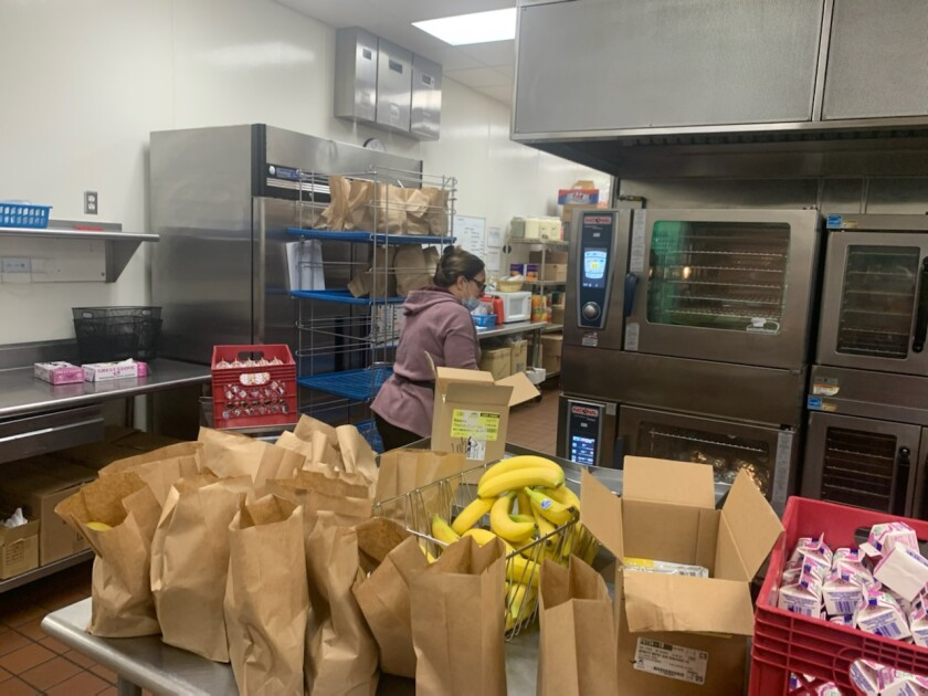 More than 46,000 free meals have been distributed by the Escondido Union School District and Escondido Union High School District nutrition teams.