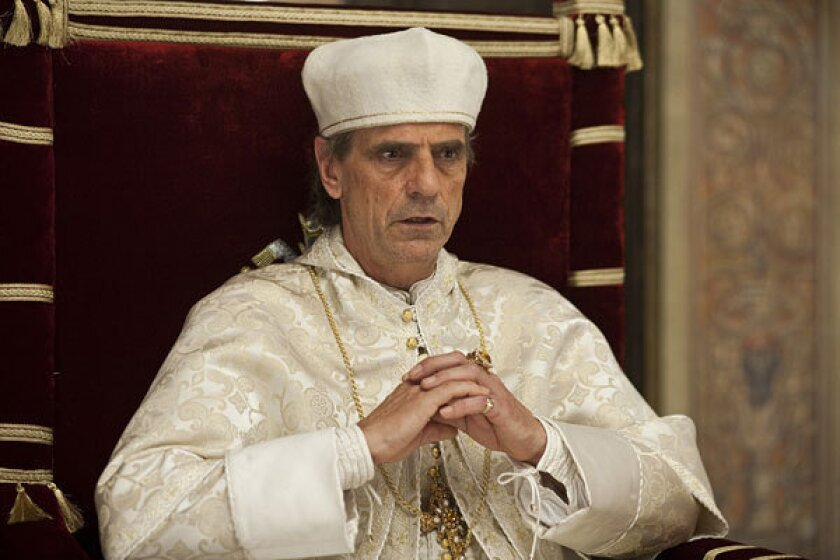 """""""The Borgias,"""" starring Jeremy Irons, will conclude with an e-book by its creator, Neil Jordan."""