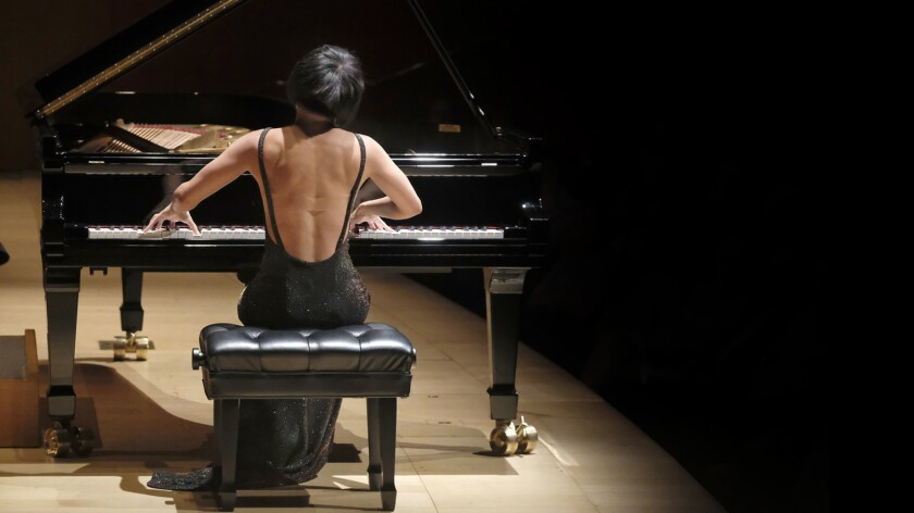 Yuja Wang plays Bartok's Piano Concerto No. 2 with Gustavo Dudamel and the Los Angeles Philharmonic.