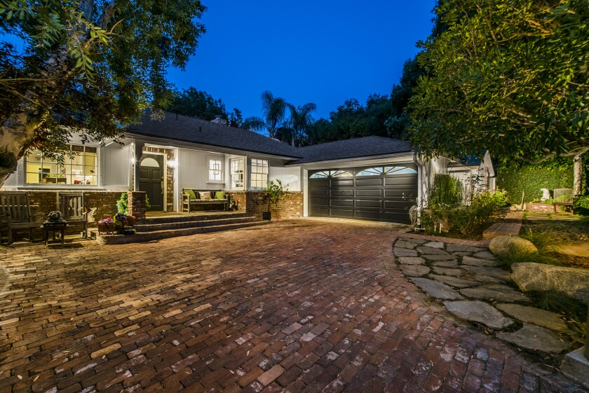 The Studio City home where Ed Asner once lived features three bedrooms and three bathrooms in about 2,800 square feet of living space.