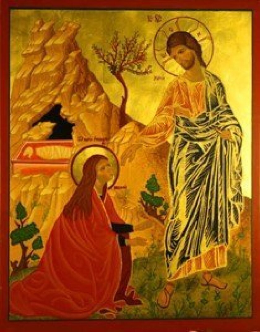 'Resurrection' is one of four icons chosen as cover art for a national Episcopal magazine.  Courtesy
