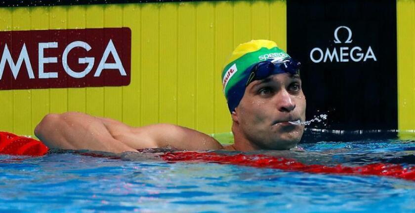 El nadador brasileño Nicholas Santos. EFE/Archivo