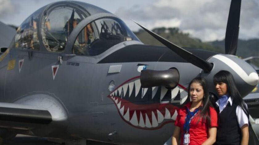 El Super Tucano es el producto estrella de la industria brasileña de armamentos.