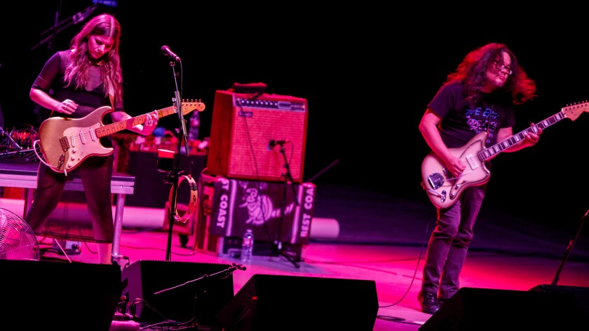 Best Coast performed at Tuesday's show.