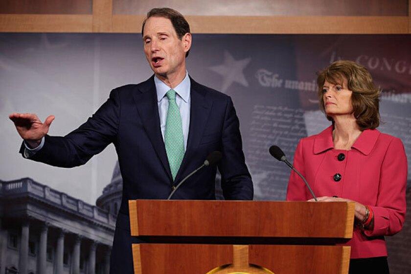 Sen. Ron Wyden (D-Ore.) and Sen. Lisa Murkowski (R-Alaska) have unveiled a bipartisan disclosure bill.