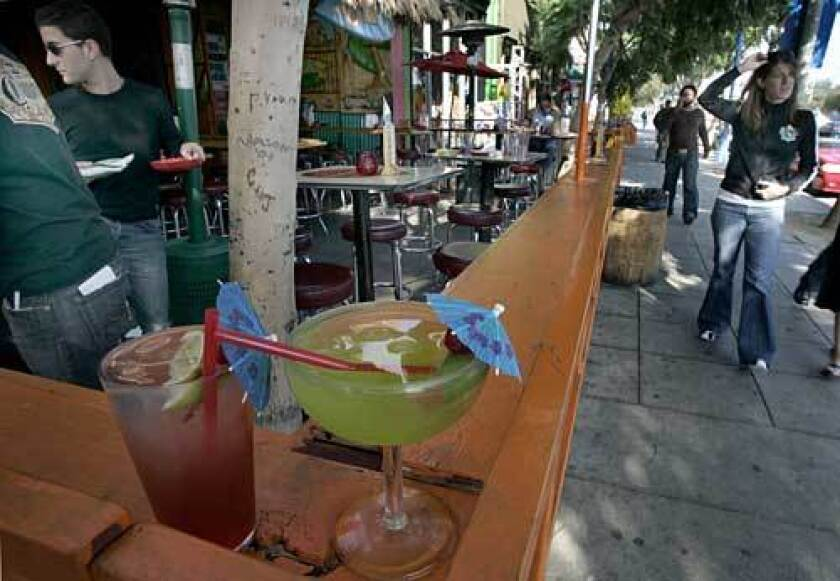 In West Hollywood, just off Melrose Avenue is Melrose Place, with its mix of shops and restaurants.