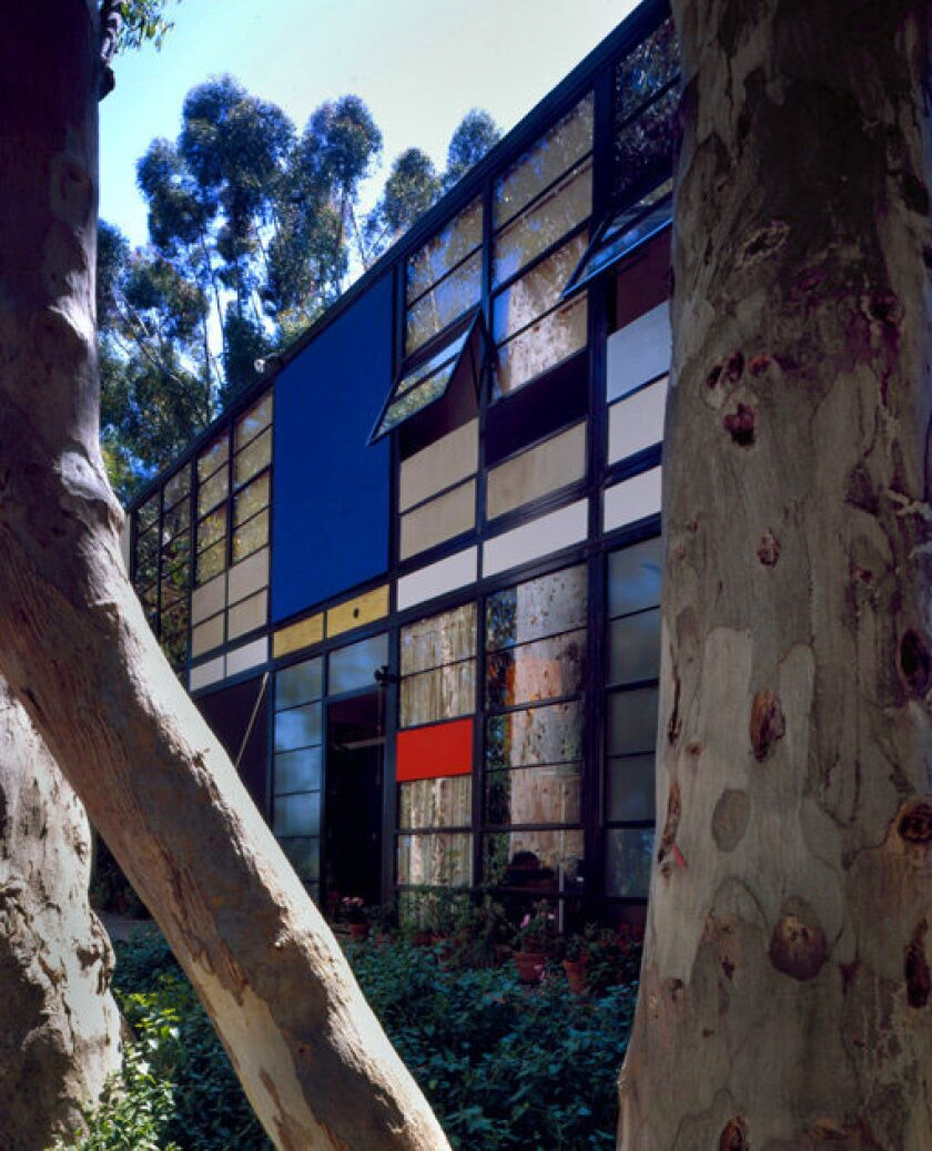 """The Eames House in Pacific Palisades stands as an epitome of Midcentury California design, an expression of modernity and optimism that many still emulate today. Said Bill Stern, founder of the California Museum of Design: """"The Eames House eschewed traditional materials like bricks and sticks, and used glass and steel in fresh ways to create a new understanding of how people can live."""""""
