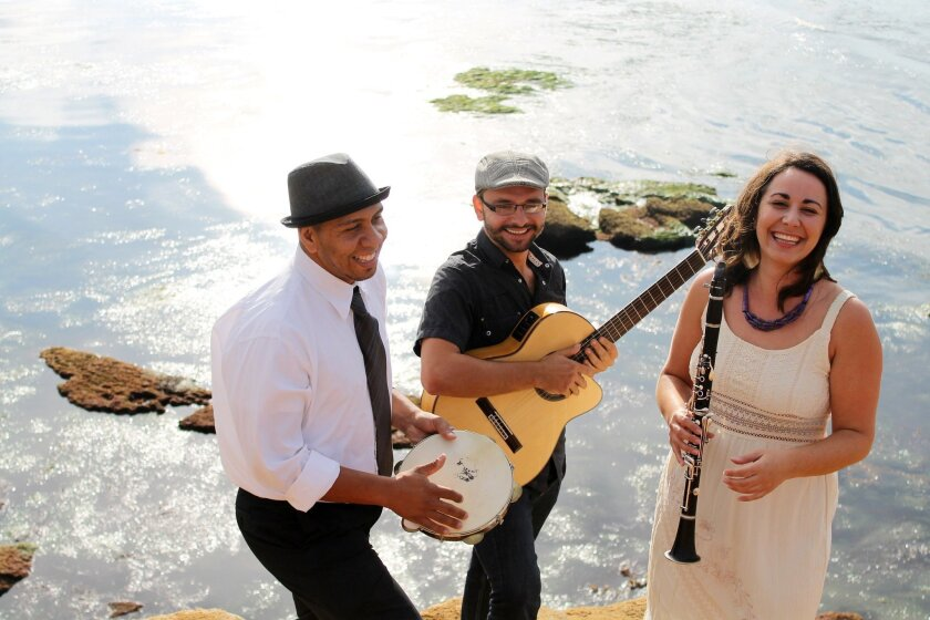 Choro Sotaque will perform at the 2015 Adams Avenue Unplugged Festival.