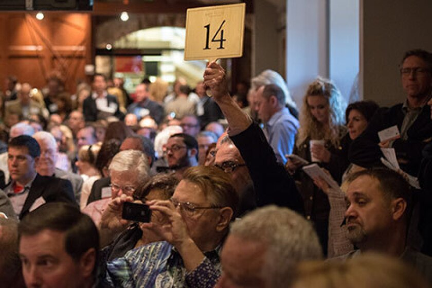 At the Premiere Napa Valley auction, more than 12 lots of wine sold for over $1000 a bottle. Is this ushering in the era of the $1000 Napa Valley Cab?