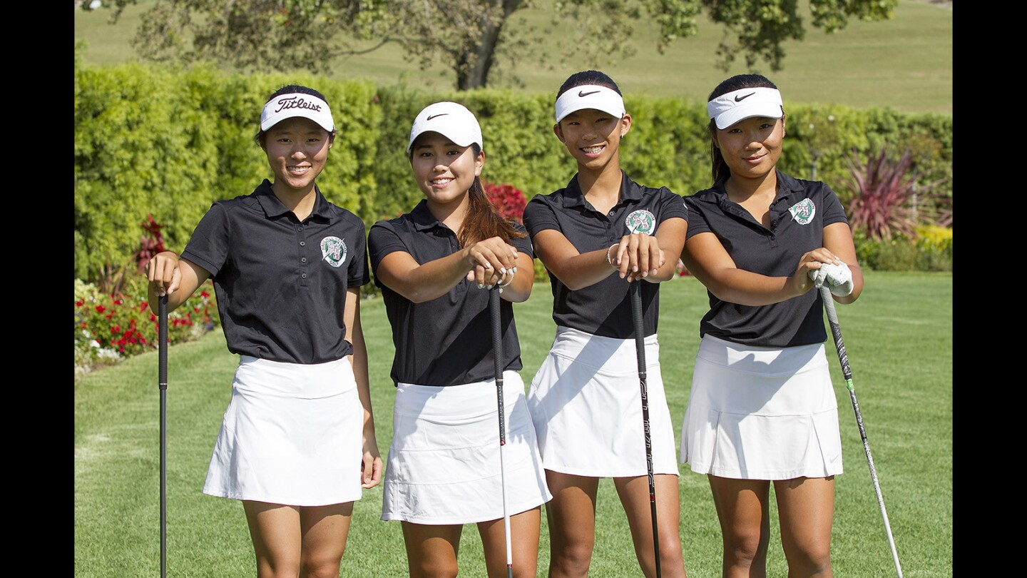 Sage Hill girls' golf team has big plans for 2017