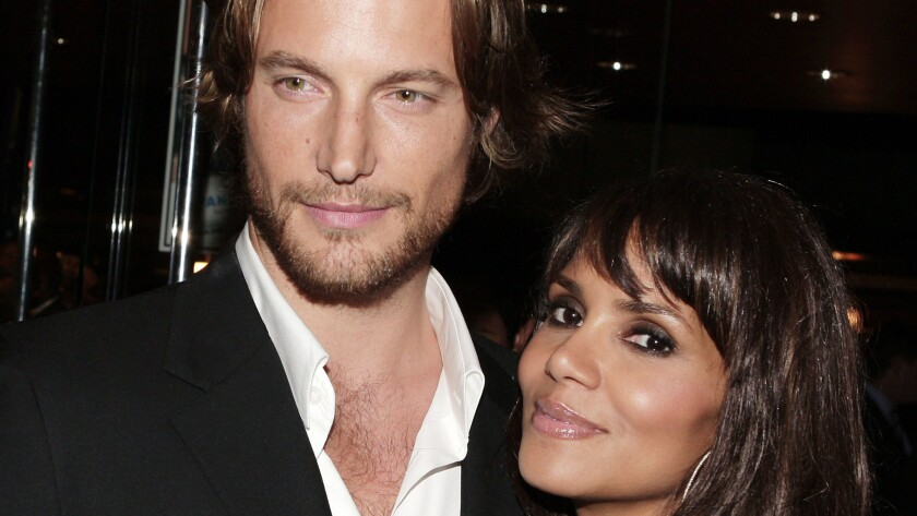 Halle Berry, right, and model Gabriel Aubry in 2007.