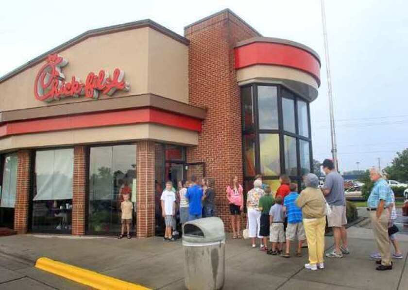 Chick-fil-A say that while its ¿sincere intent has been to remain out of this political and social debate,¿ it keeps getting dragged back in.