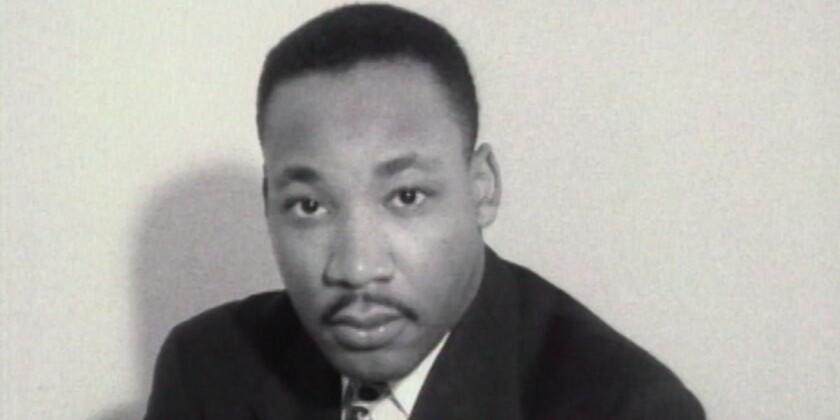 "The Rev. Martin Luther King Jr. in the documentary ""MLK/FBI."""