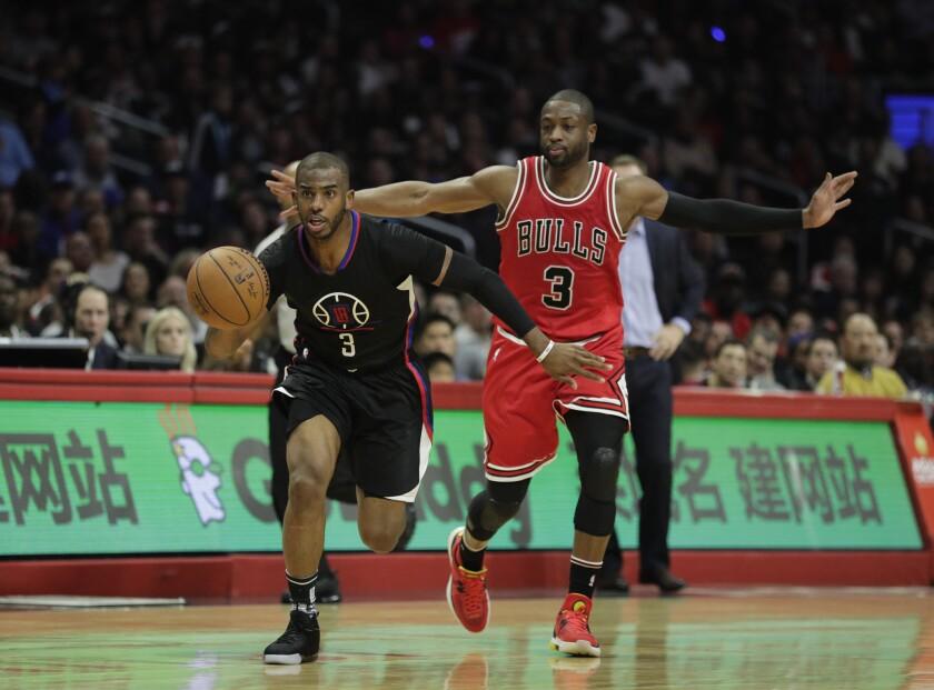 Al pasar de los partidos, el guardia de Clippers, Chris Paul le sube a la intensidad y voz.