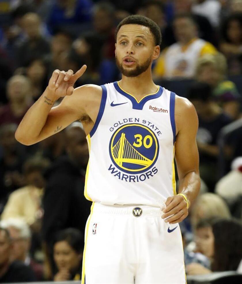 El jugador de Golden State Warriors, Stephen Curry. EFE/Archivo