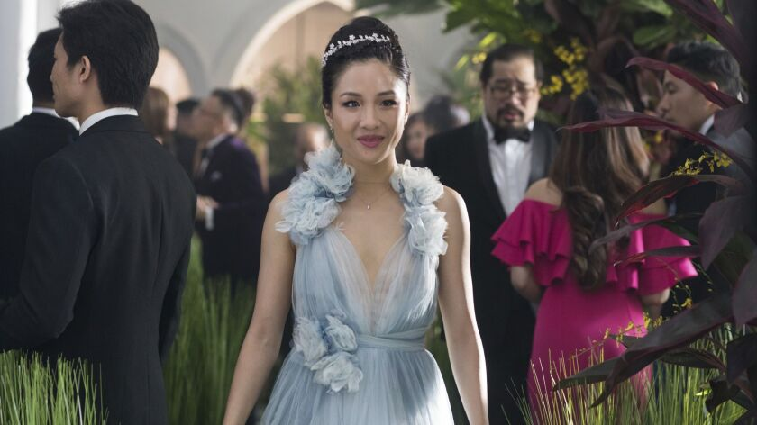 """This image released by Warner Bros. Entertainment shows Constance Wu in a scene from the film """"Crazy"""