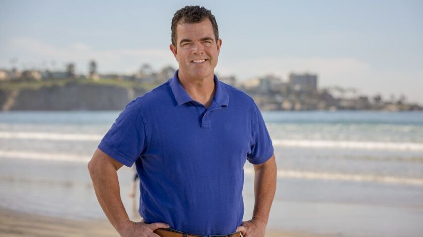 Candidate Aaron Brennan