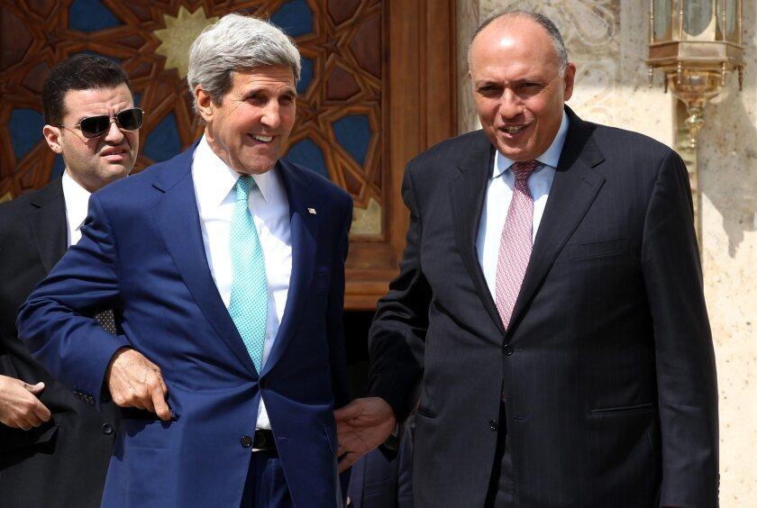 US Secretary of State John Kerry in Egypt