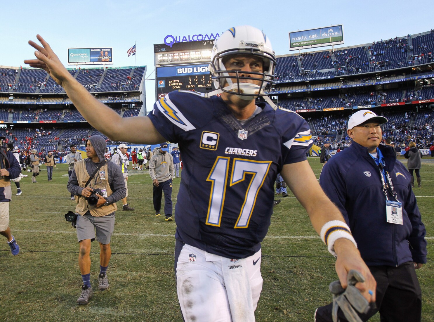 Column: Philip Rivers could reach end of road with Chargers on Sunday - The San  Diego Union-Tribune