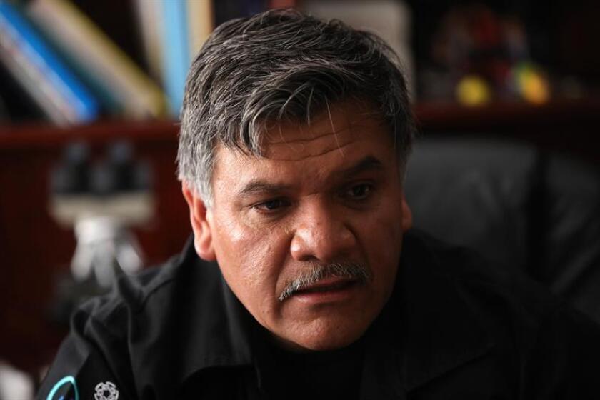 El doctor José Luna Muñoz, coordinador del Banco Nacional de Cerebros del Centro de Investigación y de Estudios Avanzados (Cinvestav) del Instituto Politécnico Nacional, habla durante una entrevista con Efe, el 21 de febrero de 2019, en Ciudad de México (México). EFE