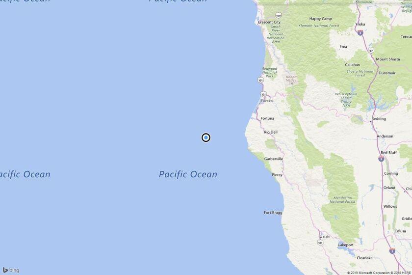 Earthquake: 4.0 quake strikes near Capetown, Calif.