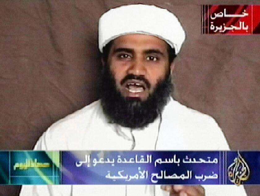 U.S. arrests Osama bin Laden son-in-law on terrorism charges